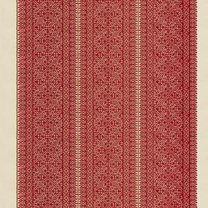 Fez Embroidery - Carmine