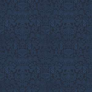 Heraklion Damask - Blue Agate